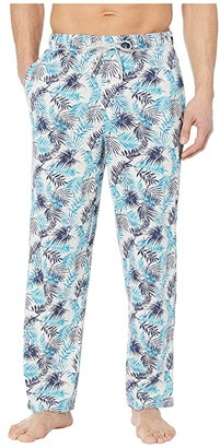 Tommy Bahama Cotton Modal Printed Knit Pants (Lern Leaves) Men's Pajama
