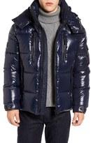 SAM. Men's Eclipse Hooded Goose Down Puffer Jacket
