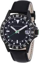 HUGO BOSS Baldessarini Men's Quartz Watch DUB Y8032W/20/00 with Leather Strap