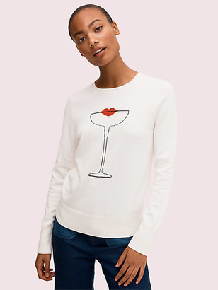 Kate Spade Cocktail Kiss Sweater