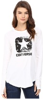 Converse Star Print Long Sleeve Tee