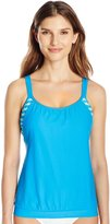 Next Women's Barre To The Beach Double Up Tankini - D Cup with UPF 50
