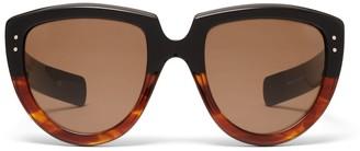 Oliver Goldsmith Sunglasses Y-Not 1966 Black Amber