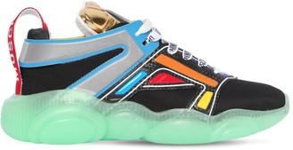 Moschino 30mm Teddy Mesh Sneakers