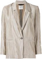 Forte Forte one button blazer - women - Cotton/Linen/Flax/Viscose - 0