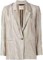 Forte Forte one button blazer - women - Cotton/Linen/Flax/Viscose - II