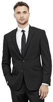 Kenneth Cole Reaction Men's Black-Solid Suit Separate Jacket