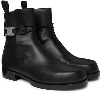 Alyx Buckled Leather Chelsea Boots