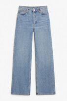 Thumbnail for your product : Monki Yoko mid blue jeans tall