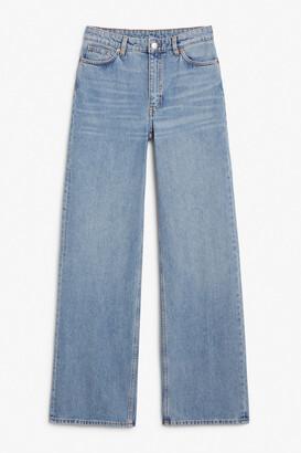 Monki Yoko mid blue jeans tall