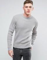 Brave Soul Ribber Crew Neck Sweater