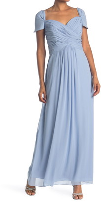 Dessy Collection Ruched Chiffon Dress
