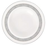 Vera Wang Wedgwood Gilded Weave Platinum Rim Soup Plate