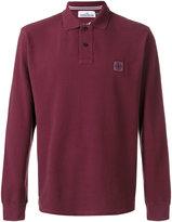 Stone Island long-sleeved polo shirt