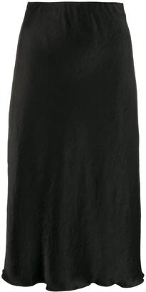Nanushka high-waisted mid-length skirt