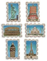 Kim Seybert Beaded Stamp Coasters/Set of 6
