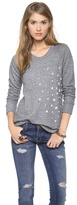 SUNDRY Long Sleeve Raglan Top
