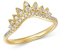 Bloomingdale's Diamond Chevron Ring in 14K Yellow Gold, 0.25 ct. t.w. - 100% Exclusive