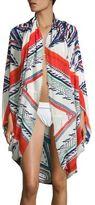 Jules Smith Designs Americana Fringed Kimono