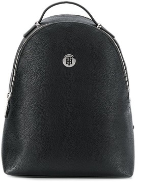 Tommy Hilfiger Logo Plaque Backpack