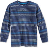 Epic Threads Little Boys' Long-Sleeve Jon Stripe Thermal Shirt, Only at Macy's