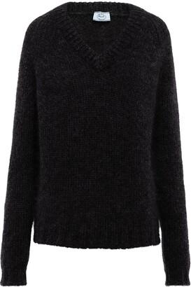 Prada V-neck wool jumper