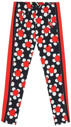 Little Marc Jacobs Printed cotton trackpants