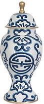 """Dana Gibson 16"""" Sultan Ginger Jar - Blue/White"""