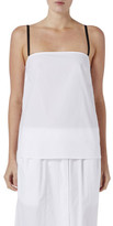 Bassike Cotton Square Neck Tank