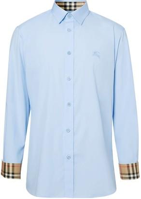 Burberry Check Cuffs Shirt