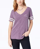 Lucky Brand Striped Varsity T-Shirt, Created for Macy's