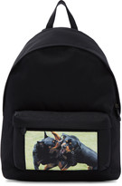 Givenchy Black Rottweiler Fight Backpack