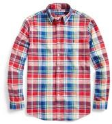 Ralph Lauren Custom Fit Madras Shirt