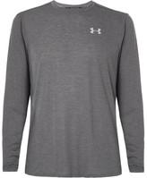 Under Armour Threadborne Streaker Striped Jersey T-shirt - Charcoal