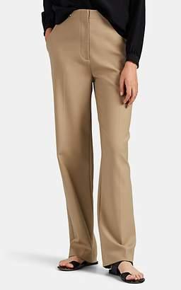 The Row Women's Matea Linen-Blend Flat-Front Trousers - Neutral