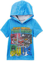 Freeze Blue 'Mighty Morphin Power Rangers' Hooded Tee - Toddler