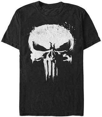 Fifth Sun Skull Costume Mens Crew Neck Short Sleeve Punisher Graphic T-Shirt