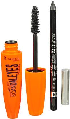 Rimmel ScandalEyes Mascara with Eye Liner, Extreme Black