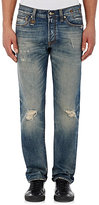 R 13 Men's Ripped Fulham Jeans-Blue Size 33