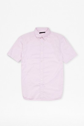 French Connection Oxford Lightweight Short Sleeve Shirt