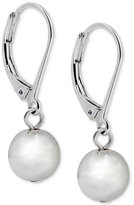 Lauren Ralph Lauren Silver-Tone Metallic Ball Drop Earrings