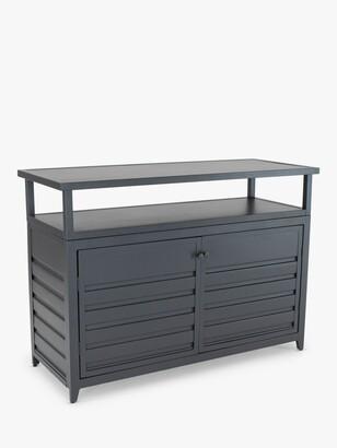 Kettler Aluminium Garden Sideboard, Anthracite