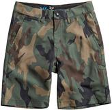 Fox Green Camo Hydroessex Hybrid Shorts - Boys