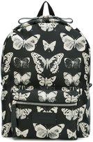 Alexander McQueen moth print backpack