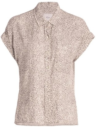 Rails Whitney Cheetah Print Shirt