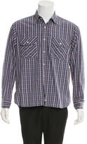 Billy Reid Striped Button-Up Shirt