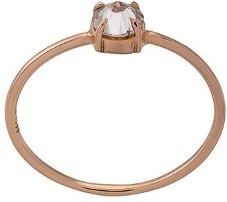 Eva Fehren 18kt Rose Gold Diamond Solitaire Ring