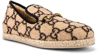 Gucci Fria Loafer in Beige Ebony & Black | FWRD