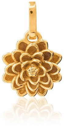 Tane Exquisitely Detailed Dahlia Charm In 18K Gold