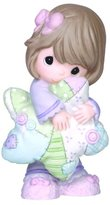 Precious Moments Precious Moments, Hold On To Your Dreams, Bisque Porcelain Figurine, 141013